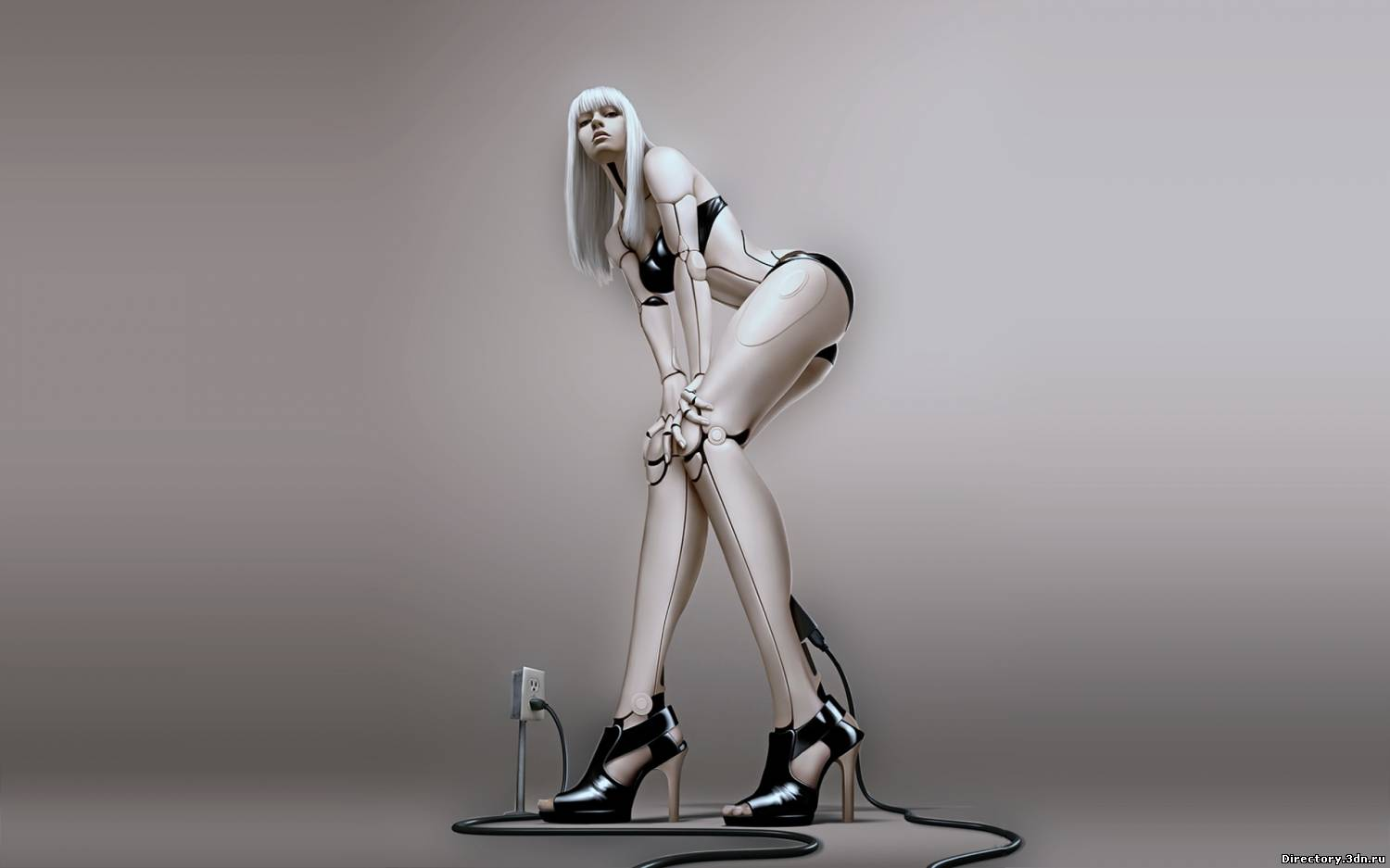 3d babe naked roboter naked images