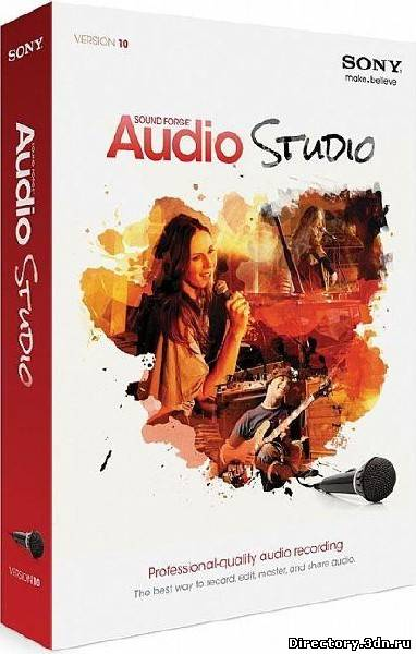 Sony Sound Forge Audio Studio 10.0 Build 252 ML/Rus