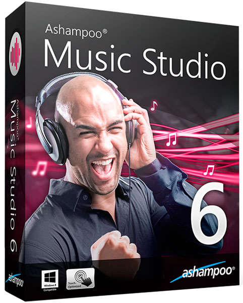 Ashampoo Music Studio 6.0.1.3 Final (ML/RUS) 2015