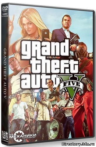 GTA 5 / Grand Theft Auto V (2015/Update 5) PC | RePack от R.G. Механики | Torrent